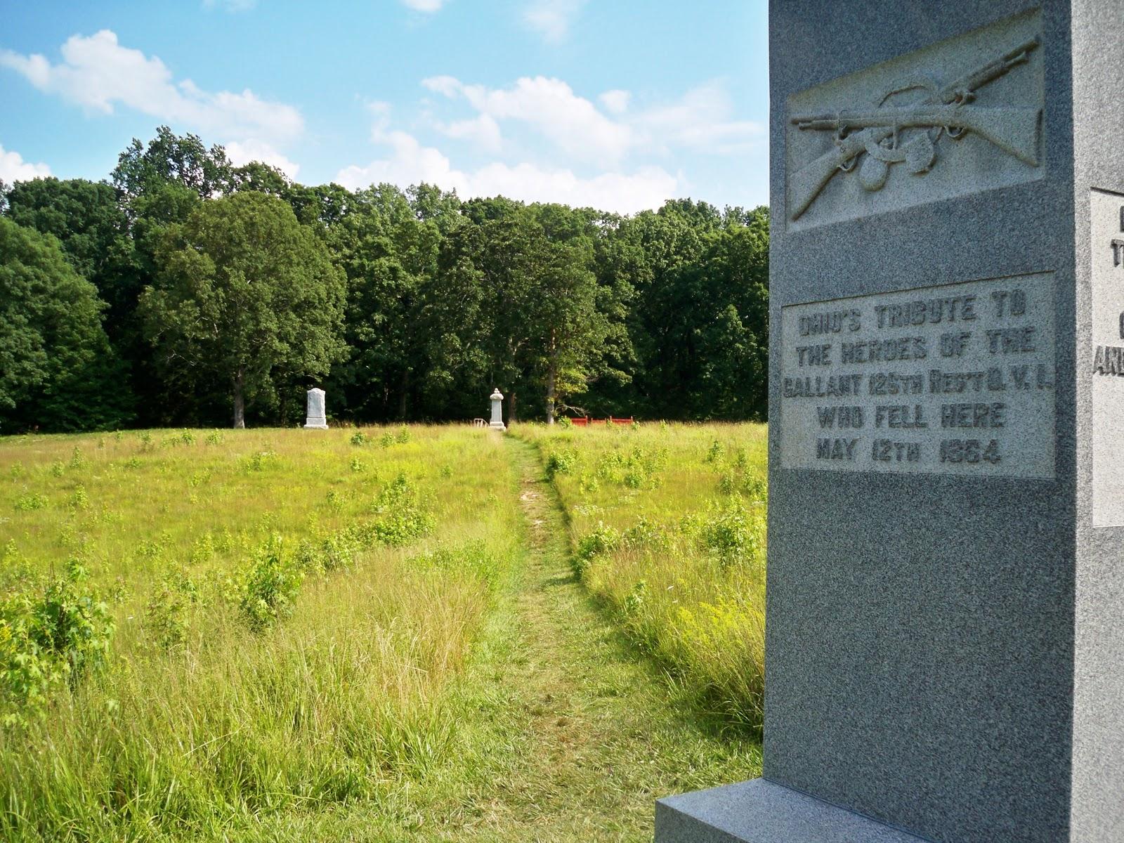 Civil War Hikes Spotsylvania Court House Battlefield Hike