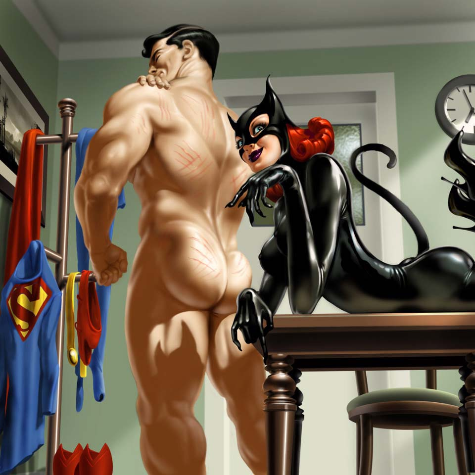 Big boobs cartoon catwomen porn images sexy tube