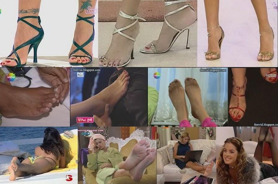 HQ  Turkish Celebrity Feet Videos-Yüksek Kalite Türk Ünlü Ayak Videoları Sürekli Güncel