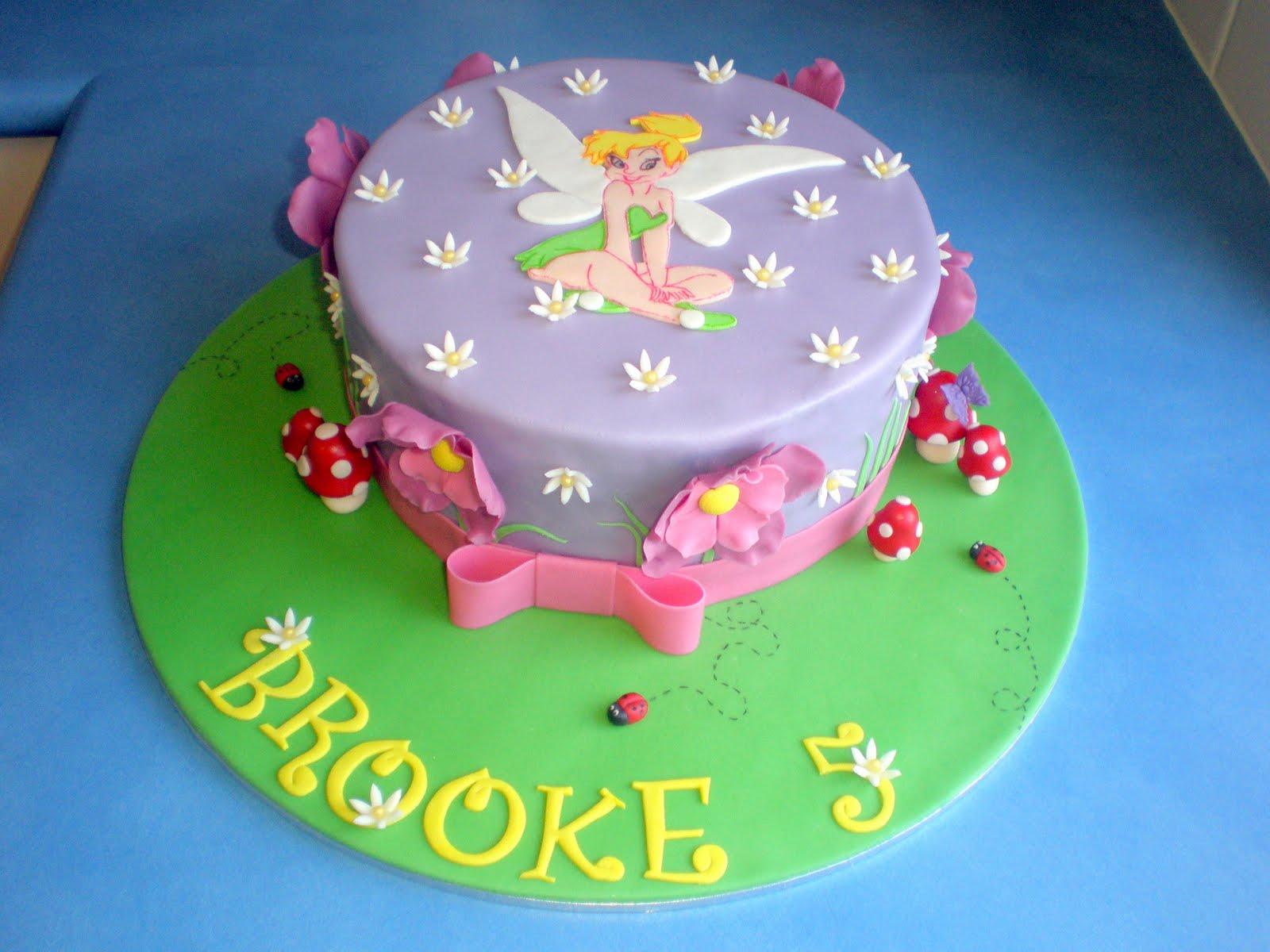 Tinkerbell Cake Images Photos : Sugar Siren Cakes Mackay: Tinkerbell Cake