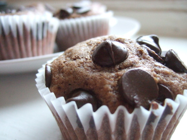 Delightfully Sinful: Chocolate Chip Muffins