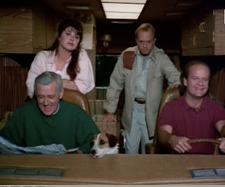 Frasier and the gang on the road