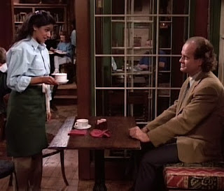 Frasier and the world's most patient barista