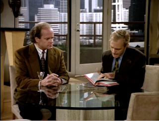 Frasier and Niles hit the books