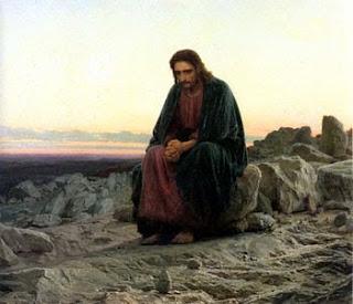 ИИсус Христос, на кресте, страстная неделя, известная картина, Христос в пустыне