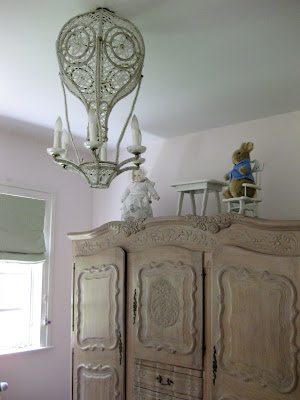 Hot Air Balloon Chandelier For Baby Room