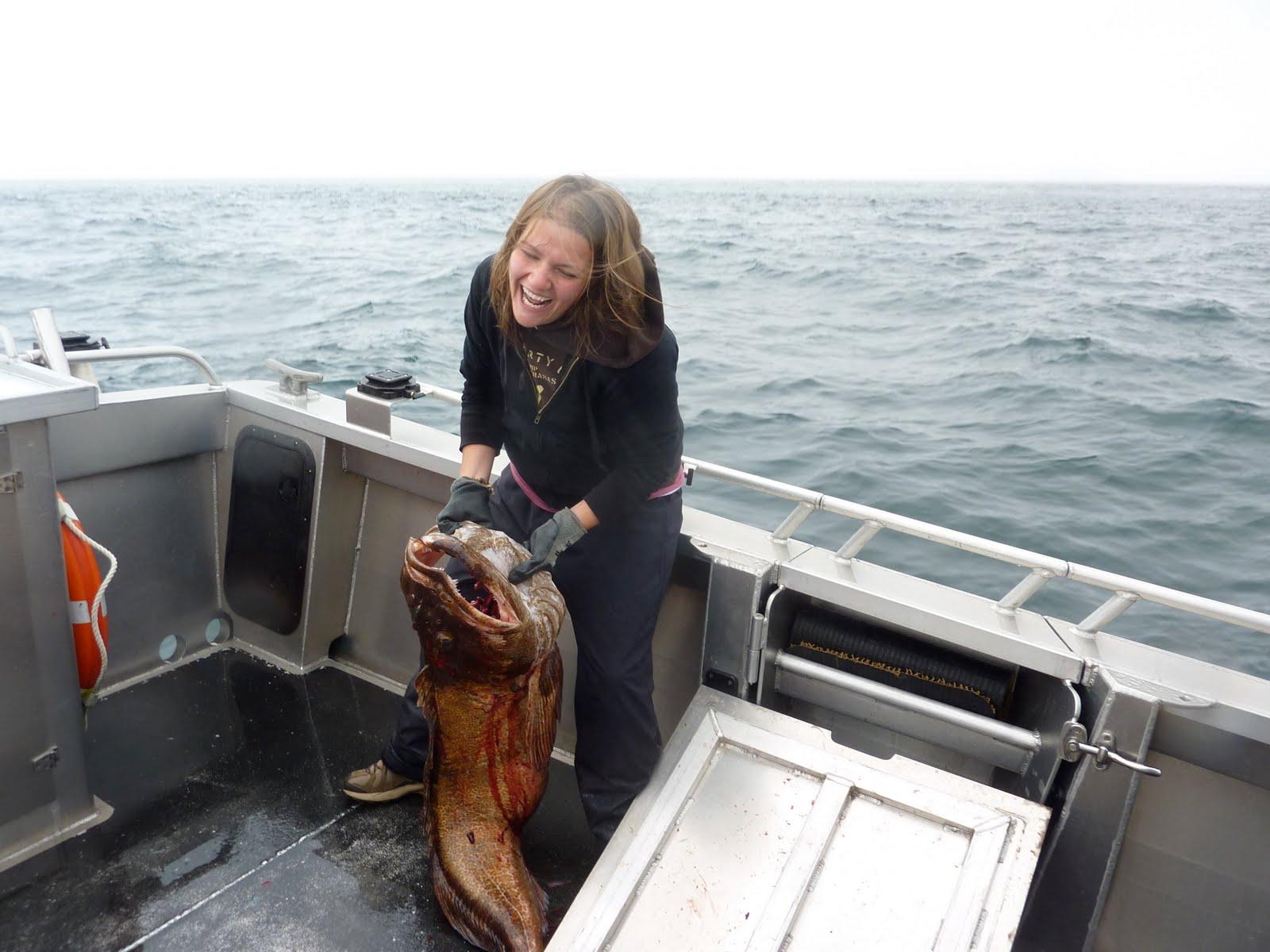 Ryan and katie 39 s road trip deep sea fishing alaskan style for Alaska deep sea fishing