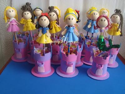 Ideas Creativas Goma Eva: Sorpresas para las niñas de princesas