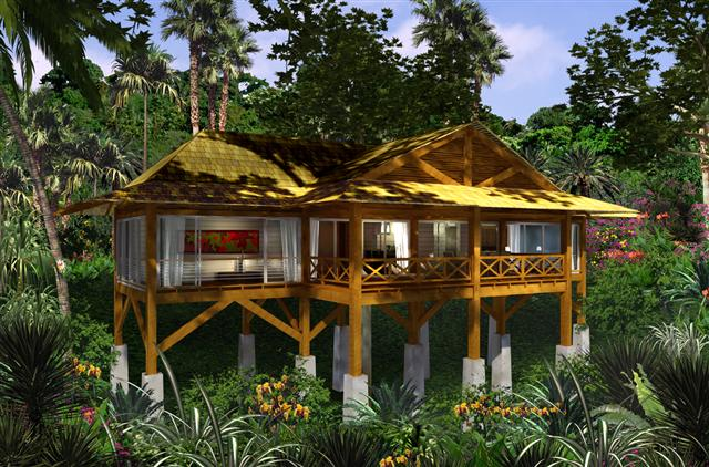 Homes On Stilts Jungle House Stilts