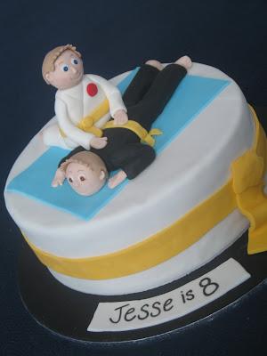 Karate Kid Cake Design Perfectend for