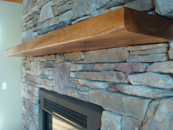 Floating Mantel Shelf
