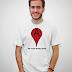 Creative Google Map t-shirt design
