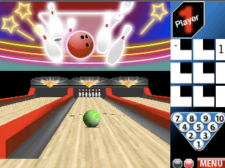 Screenshot from PBA Bowling 1