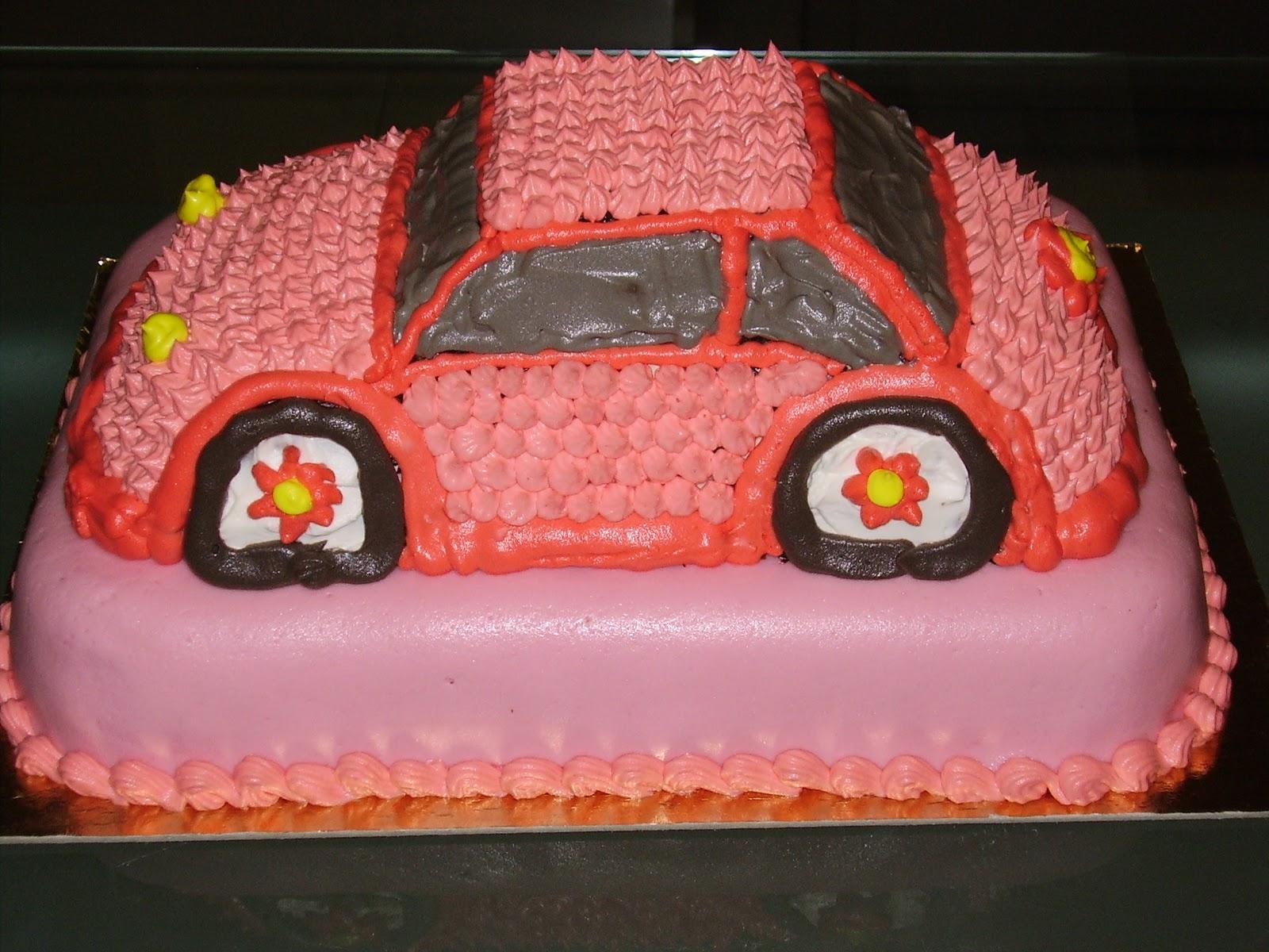 Dream Of Cakes Volkswagen Cake