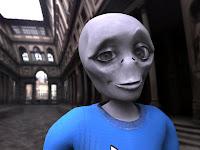 extraterrestre contento