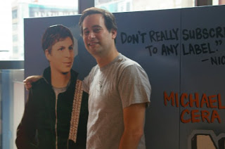 david levithan and michael cera, bff