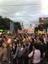 Marcha del CBC en Merlo
