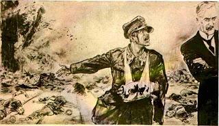 El tirano Chamberlain no atiende a las peticiones de paz.