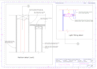 Lighting screen project | House Architecture
