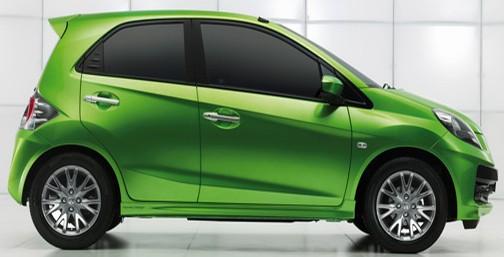 Pareshshah honda brio price in india small hatch back car for Honda brio price in india