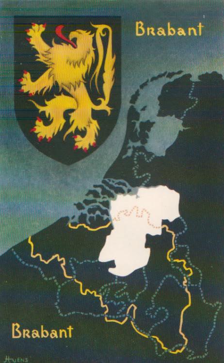 Het wapen van Brabant