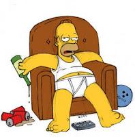 Homer, não tinha como escolher utro personagem para definir melhor o feriado, afinal quem mais eu conheço que curte tão bem a ociosidade?