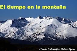 El tiempo en la montaña