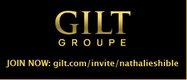 Gilt Groupe Invite