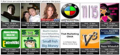 EntreCard advertising