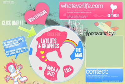 Whateverlife.com screenshot