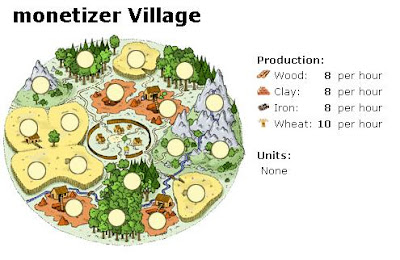travian monetizer money village