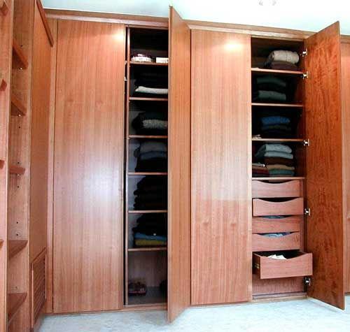 D y g muebles closet empotrado for Closet en melamina modernos