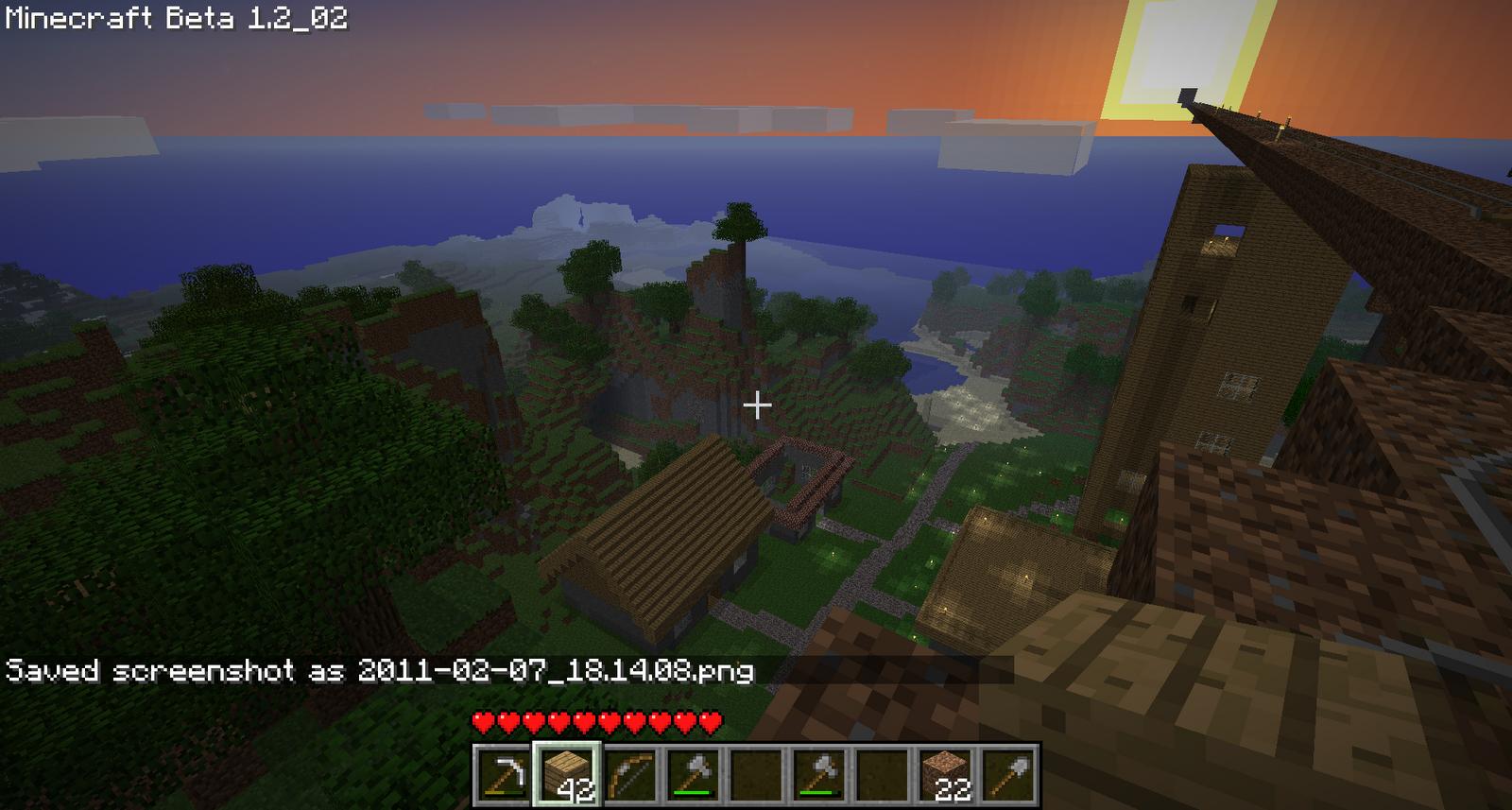 Minecraft Dein Craft Februar - Minecraft haus bauen grob