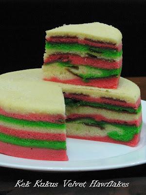 resepi kek kukus
