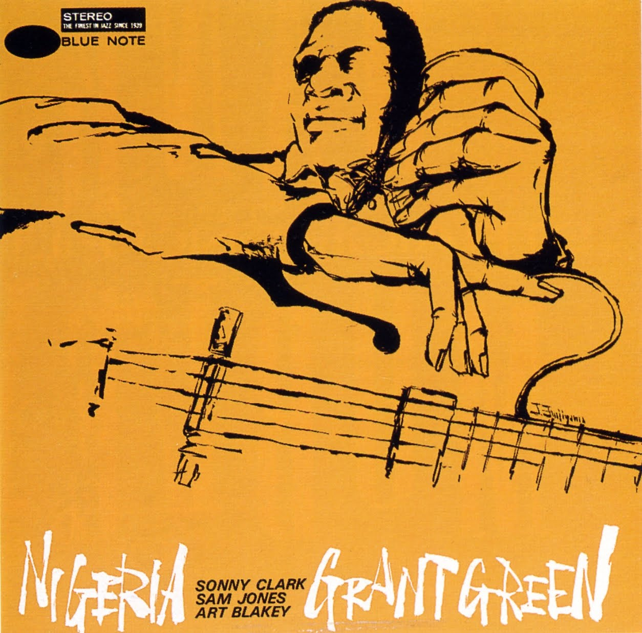 grant green - nigeria (album art)