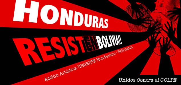 Acción Artística URGENTE Hondureño - Boliviana