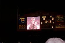 Night Rider Sings At Vegas Bowl