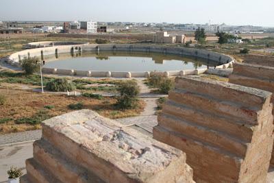 los Aljibes (estanques de los Aghlabides)