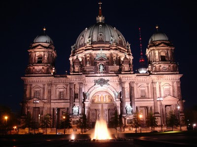 Vista Nocturna de Berliner Dom