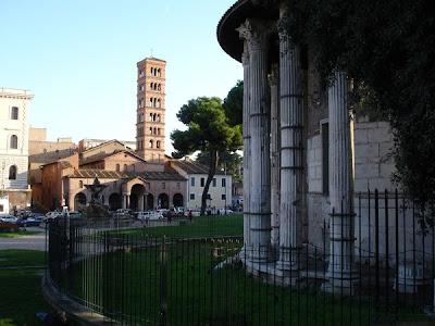 Tempio di Vesta - Piazza Bocca della verità