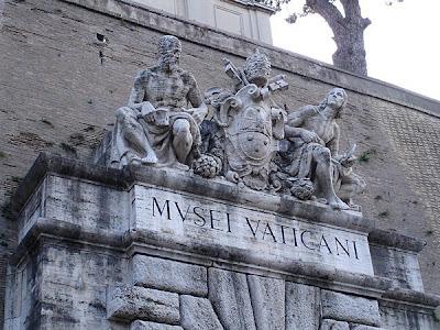Entrata al Musei Vaticani
