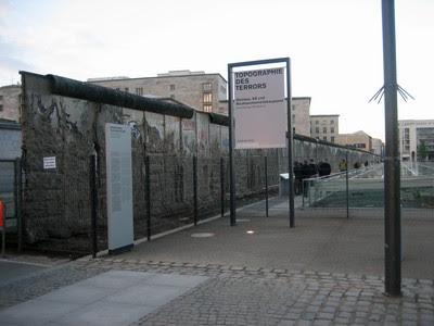 El Muro y los restos de la Gestapo