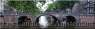 Paseos por los canales de Amsterdam