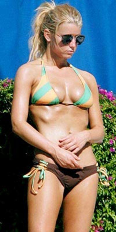 jessica simpson young