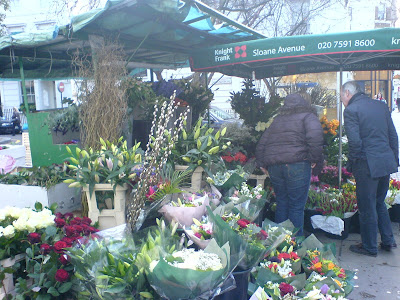 flower stall near home