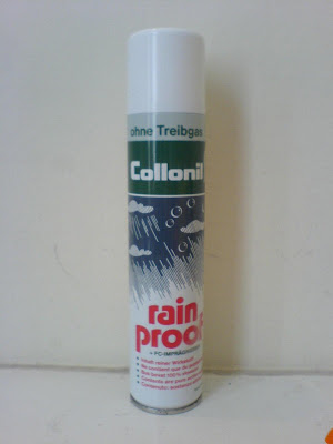 rain-proof shoe spray