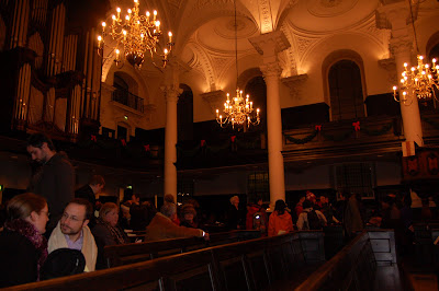 organ here, and somehow in the far right you can see that platform balcony wooden thing