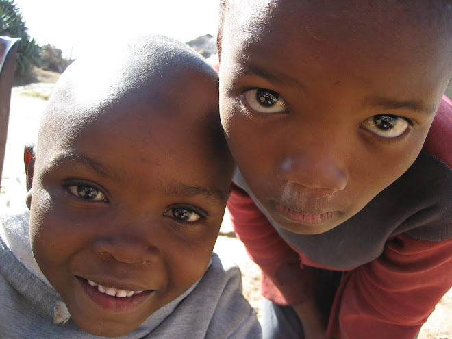 A Look of Hope for Lesotho Children