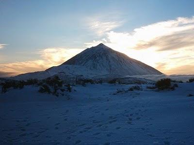 Teide Nevado Febrero 2010