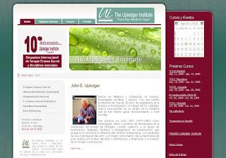 Nueva pagina web del Upledger Institute España